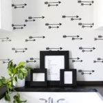 DIY Faux Wallpaper Wall - Laundry Room Reveal!