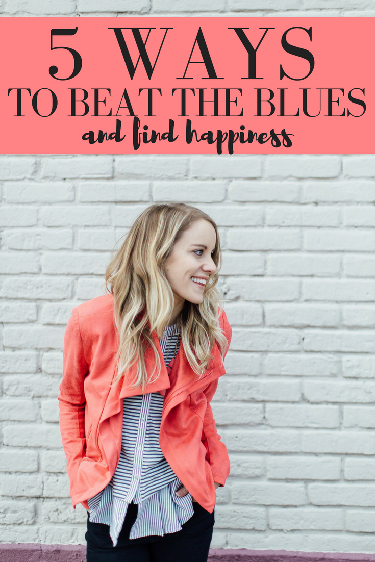 5 tips to beat the blues