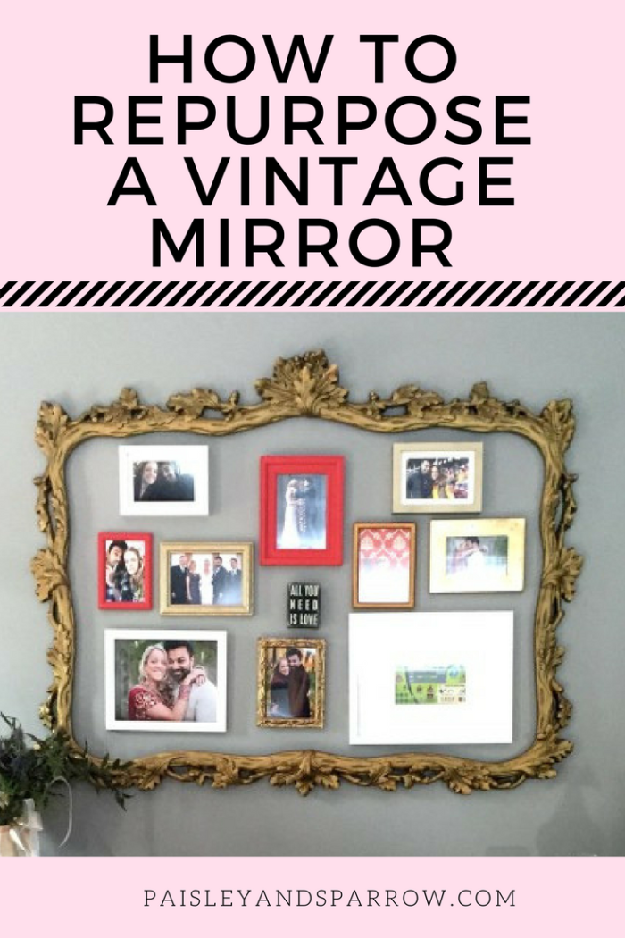 A Repurposed Mirror Frame