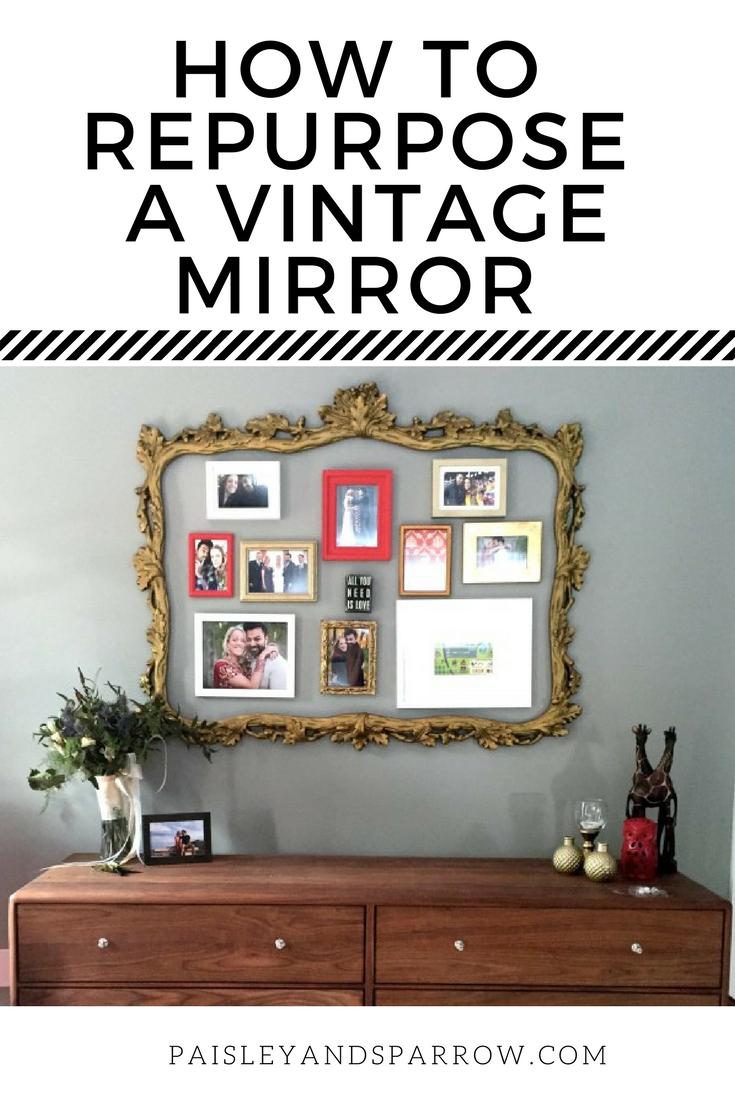 A Repurposed Mirror Frame