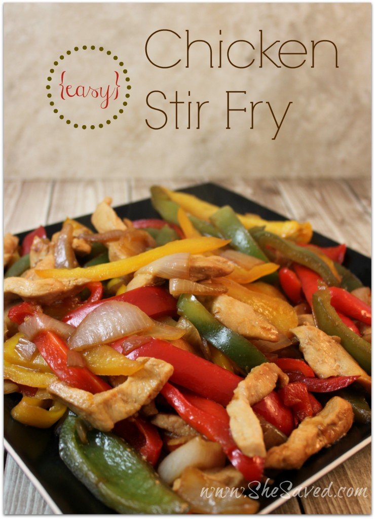 Easy Chicken Stir Fry Recipe With Frozen Vegetables-3112