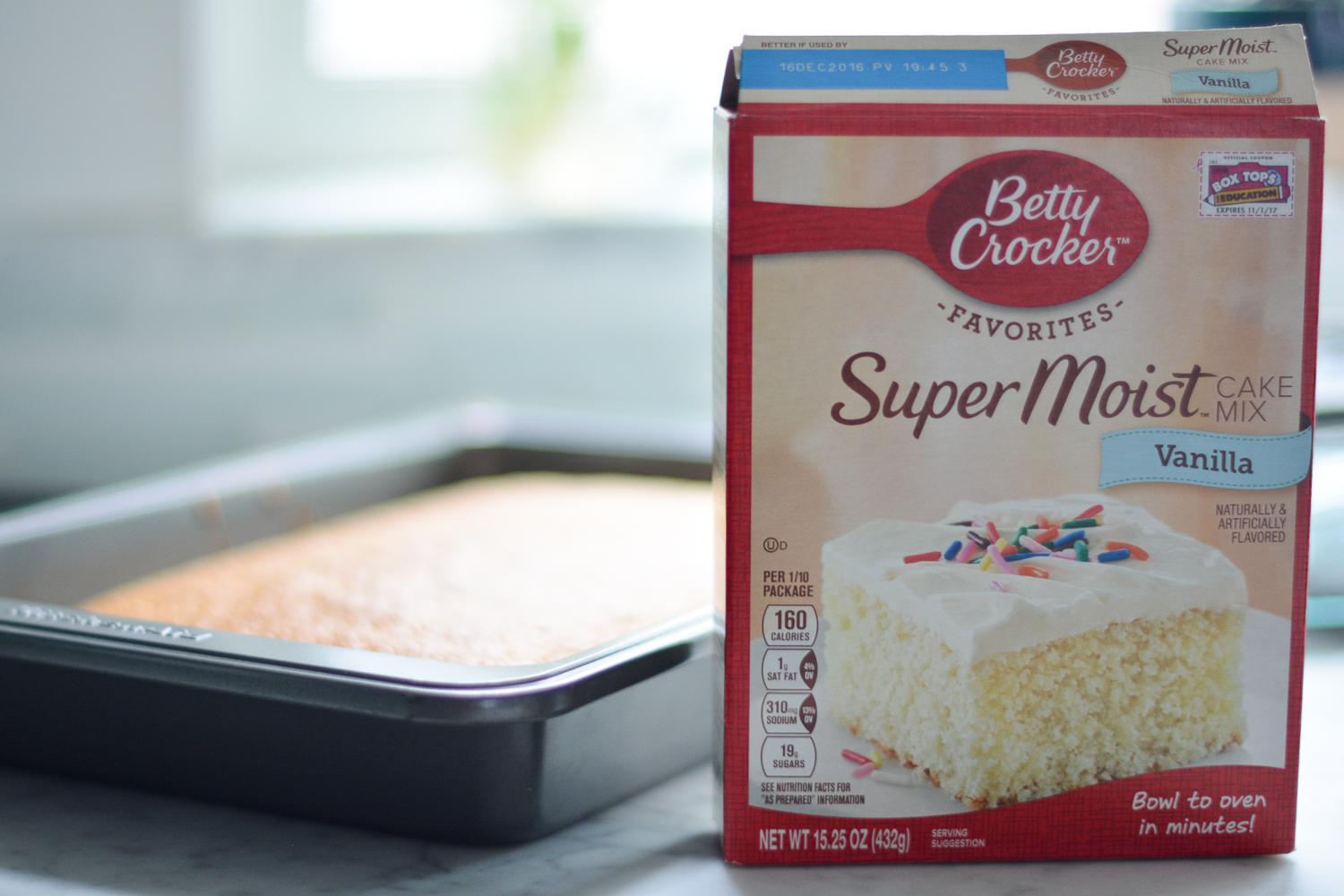betty crocker's super moist vanilla cake mix