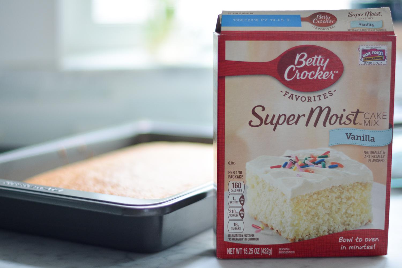 betty crocker's super moist vanilla cake mix