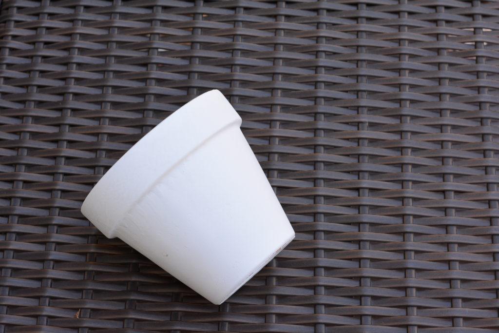 diy terracotta pots - paint your pot