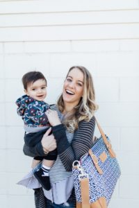 Enjoying my toddler with a classy organized diaper bag by minneapolis brand austin fowler