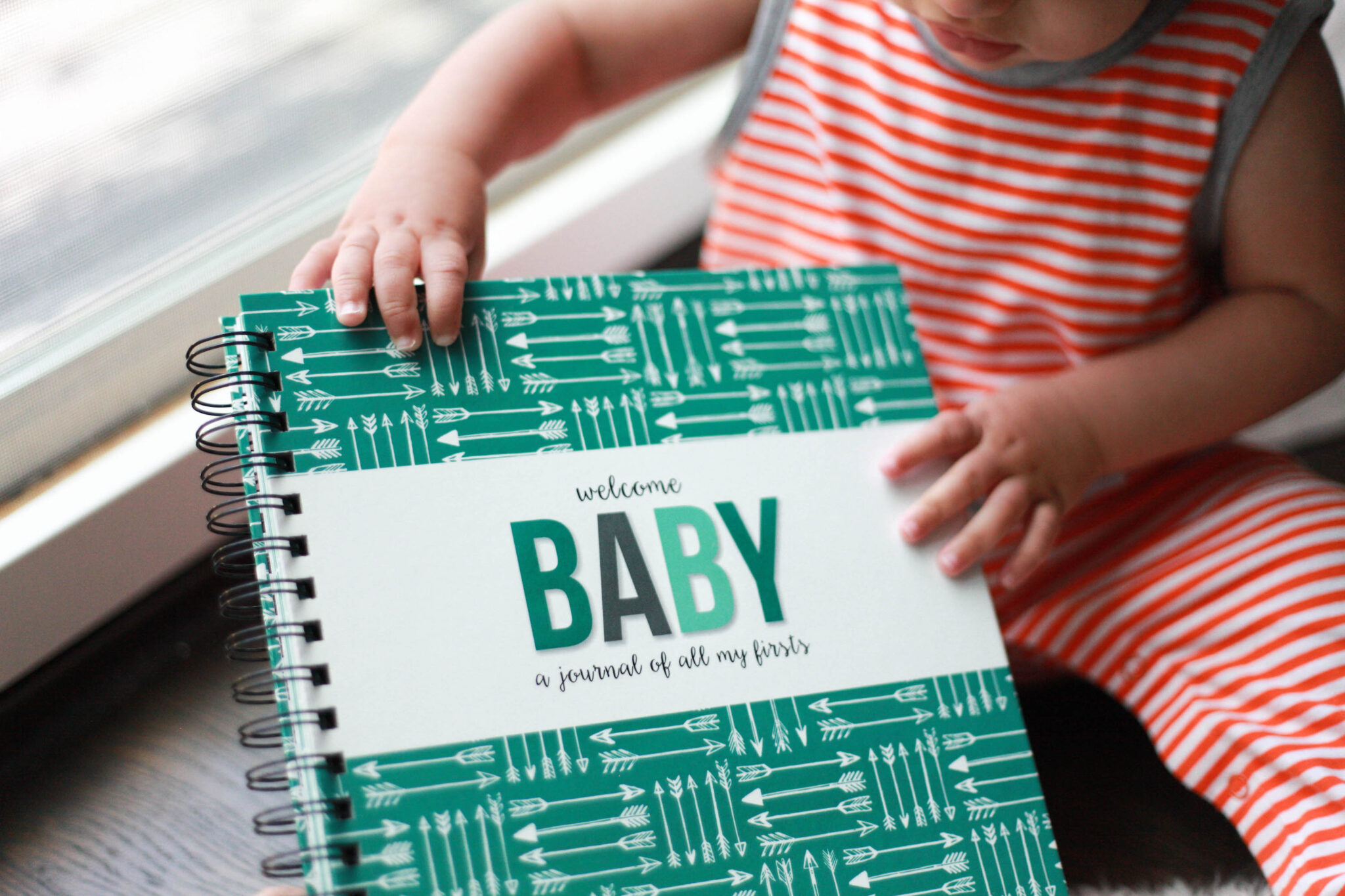 simple, cute and easy baby book - polka dot print shop review