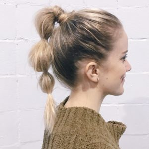 bubble ponytail how to inspired by barefoot blonde