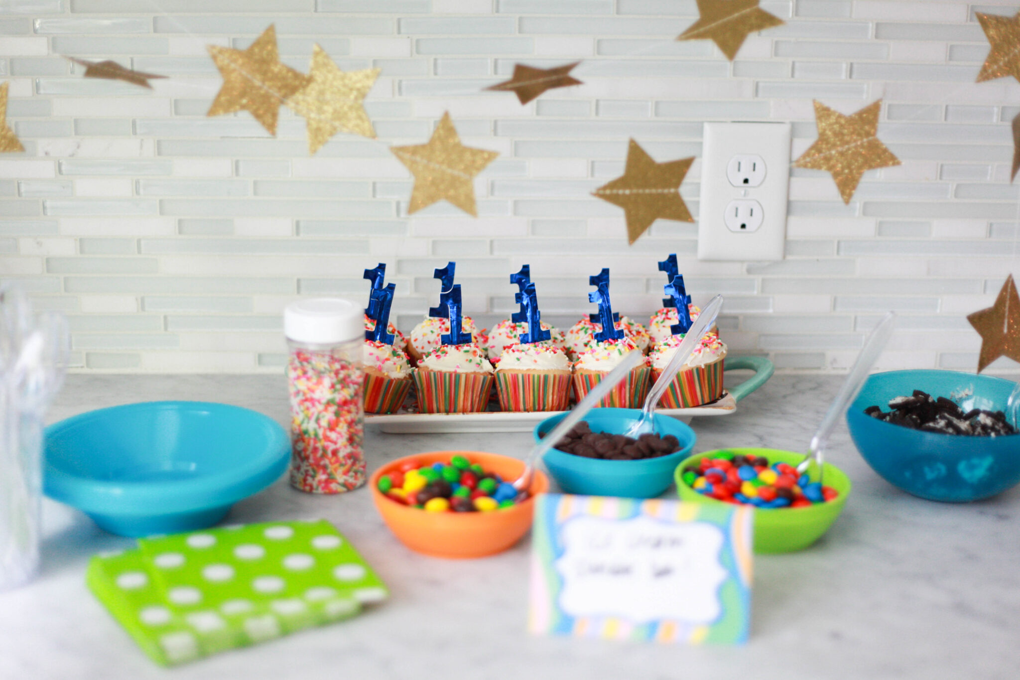 Dr Seuss 1st Birthday Party