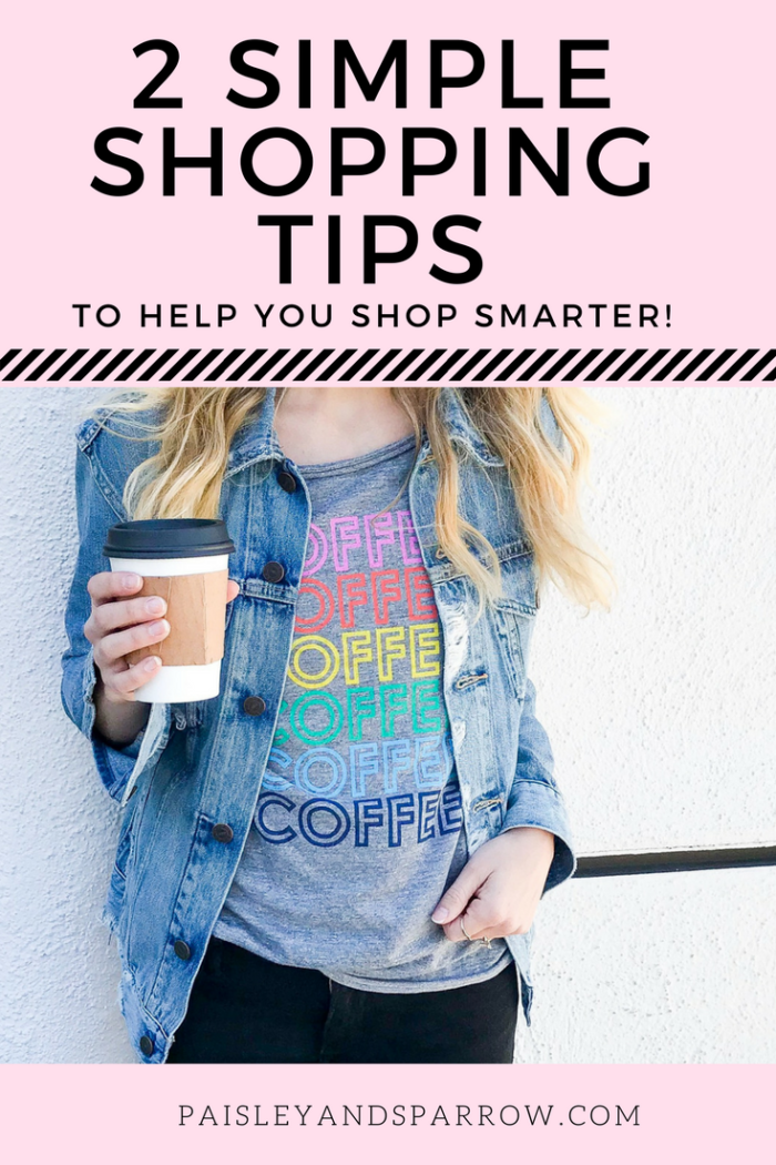 2 simple shopping tips for buying clothes