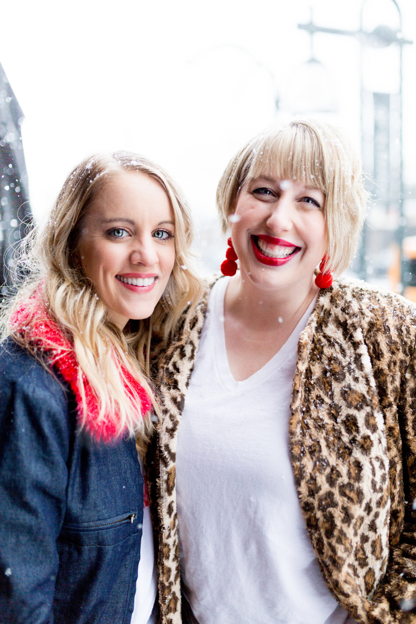 Cofounders of Mix Like A Mother Minneapolis Jen Biswas and Michelle Raven.