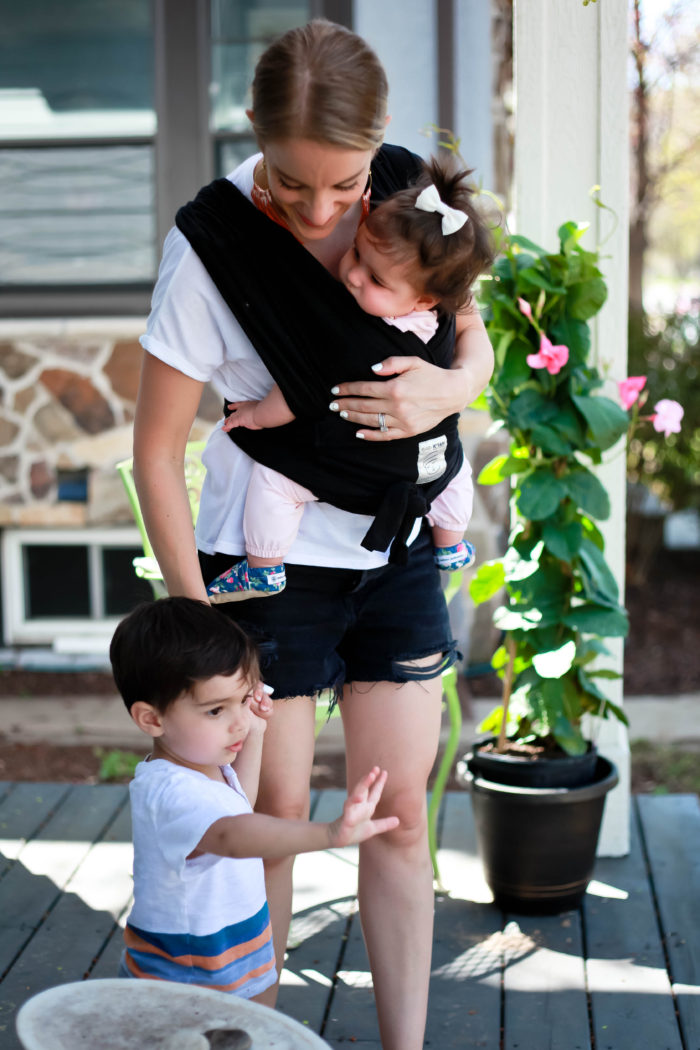 baby carrier review: the baby k'tan