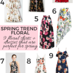 spring trend - the best floral dresses, skirts and rompers