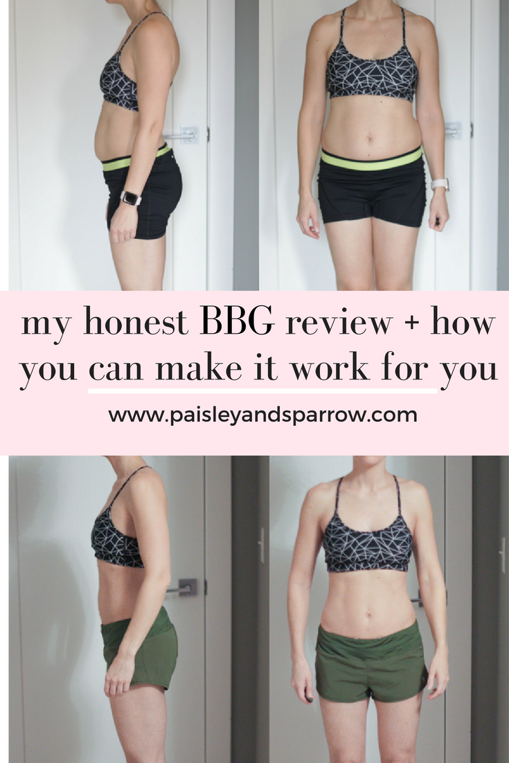 my bbg workout review