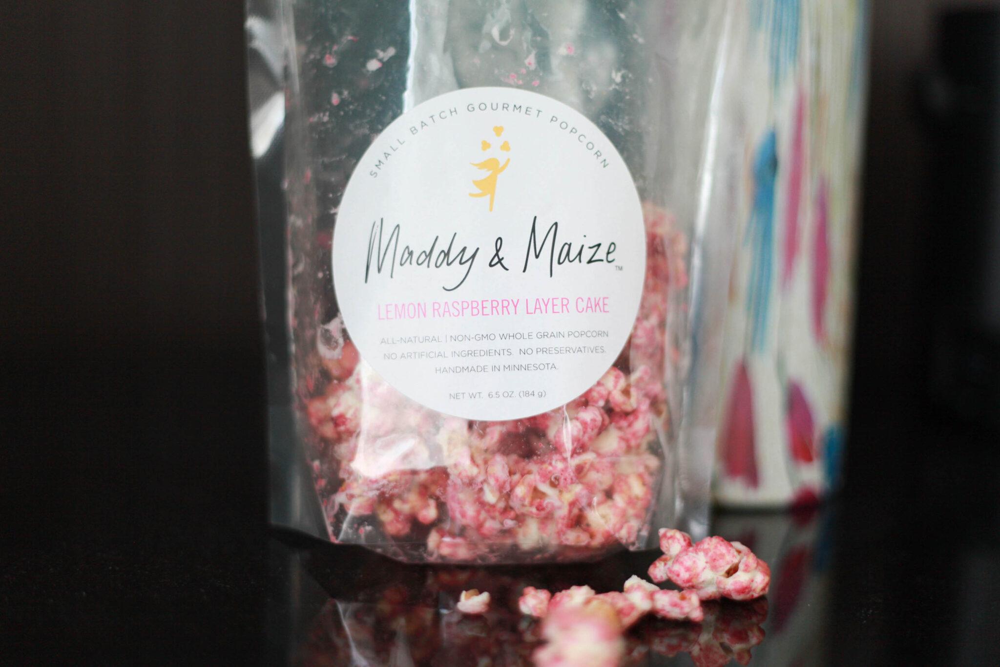 maddy and maize popcorn
