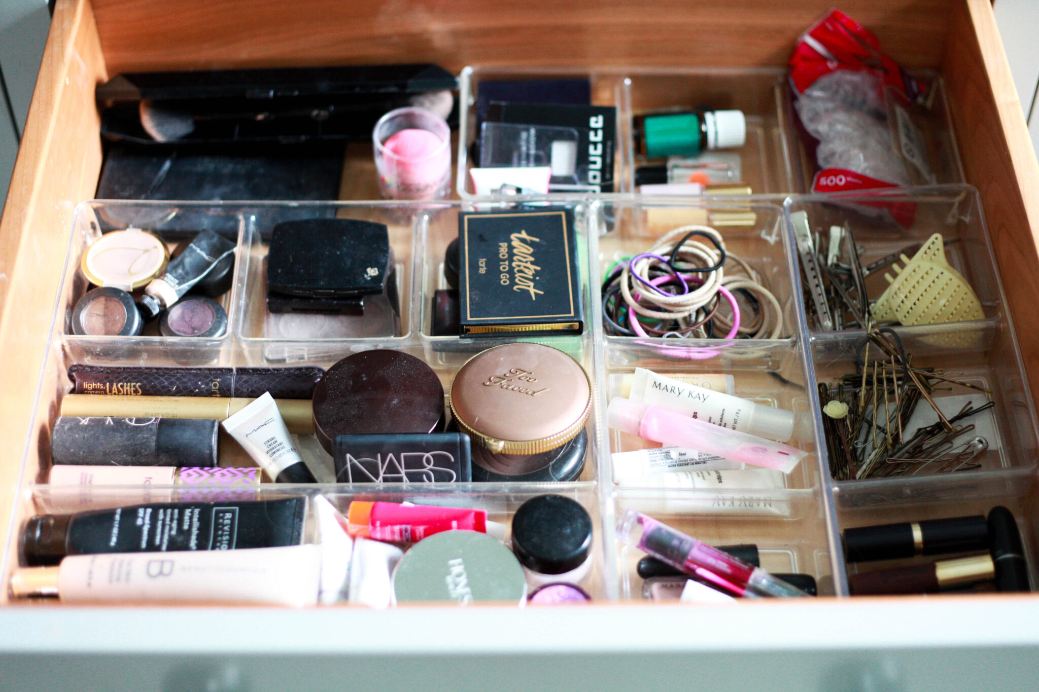 Organized Makeup Drawer Organized Makeup Drawer