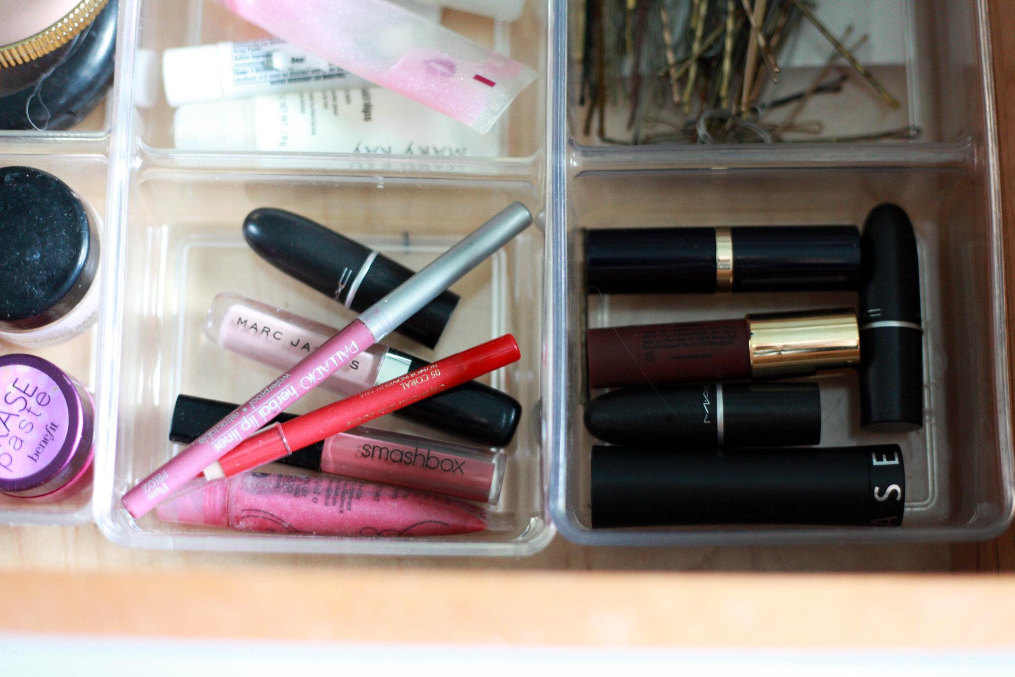 Drawer Organized Makeup Drawer