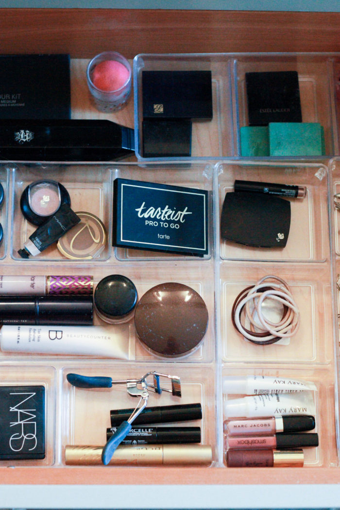 how to organize makeup in 5 easy steps