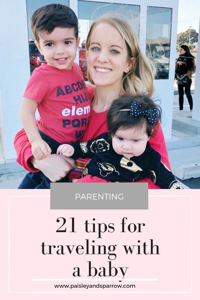 21 tips for traveling with a baby