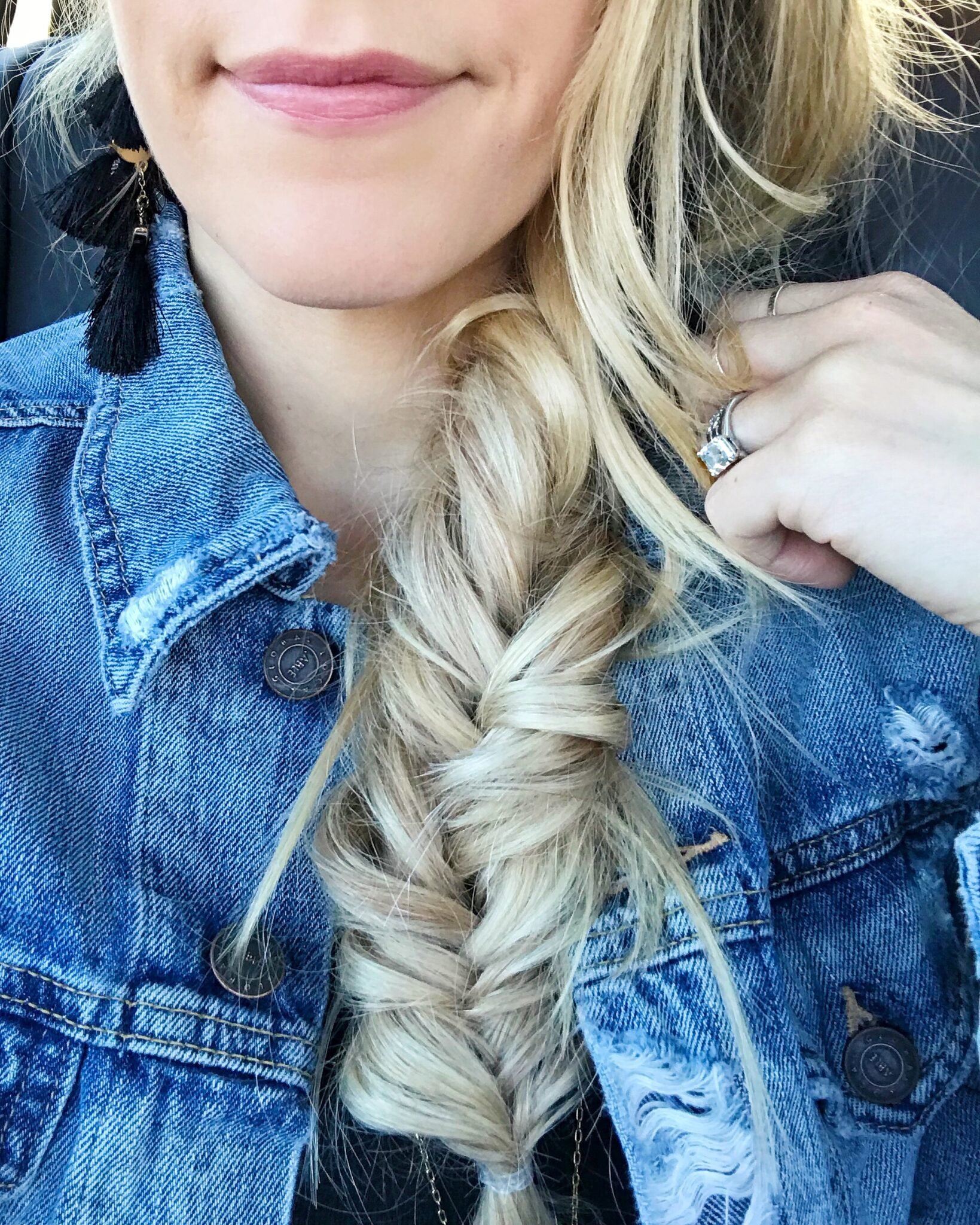 Fantastic How To Do A Fishtail Braid For Beginners Video Paisley Sparrow Natural Hairstyles Runnerswayorg