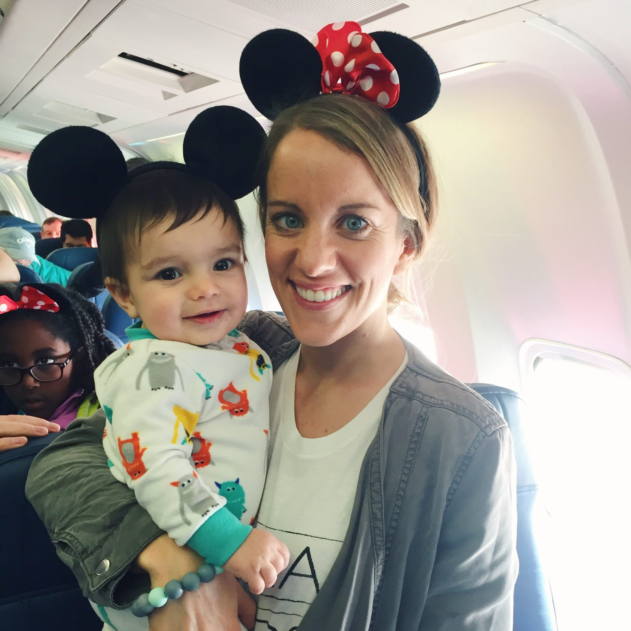 traveling with a baby: first trip to Disney