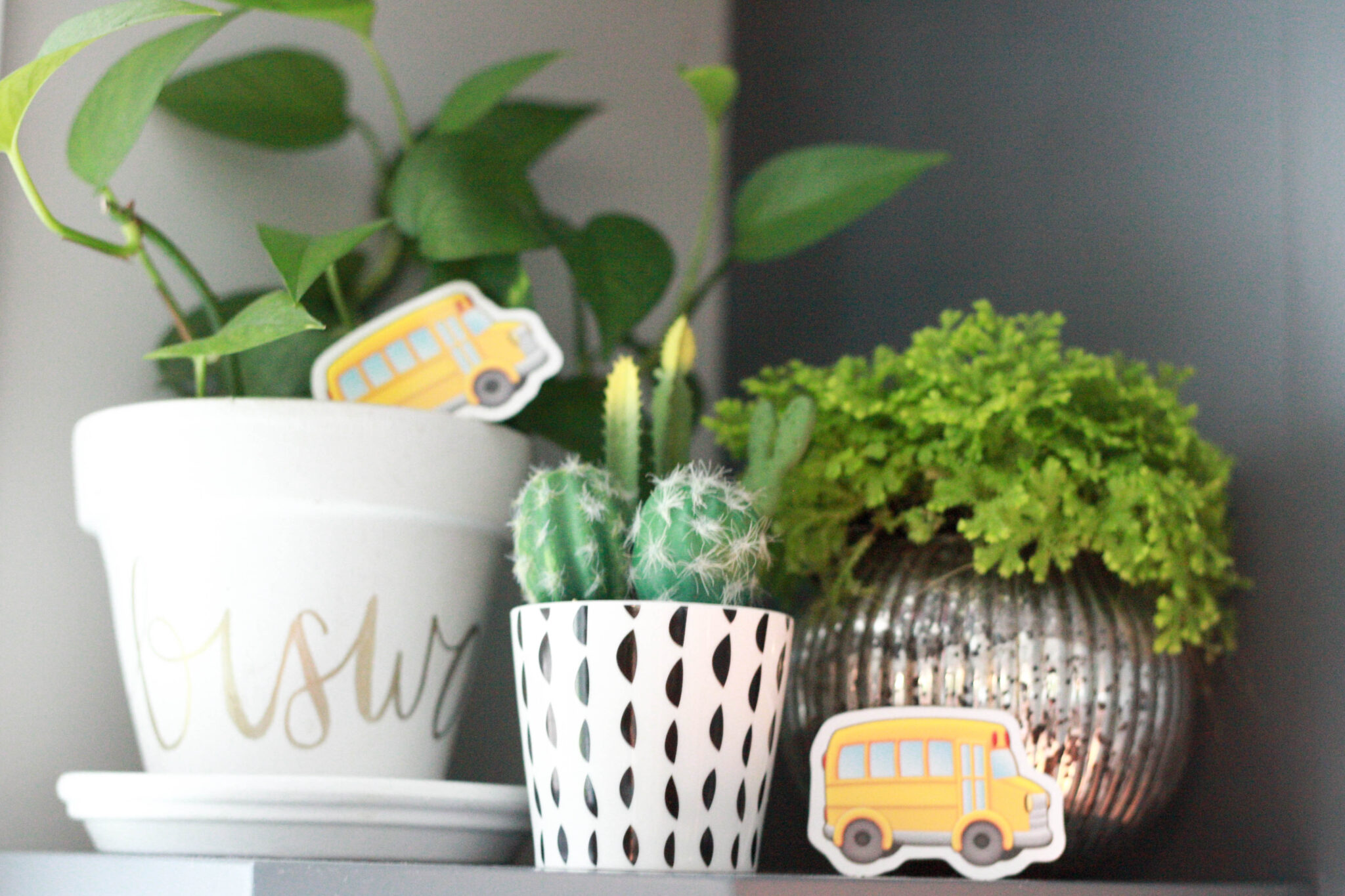 school bus decor for themed party