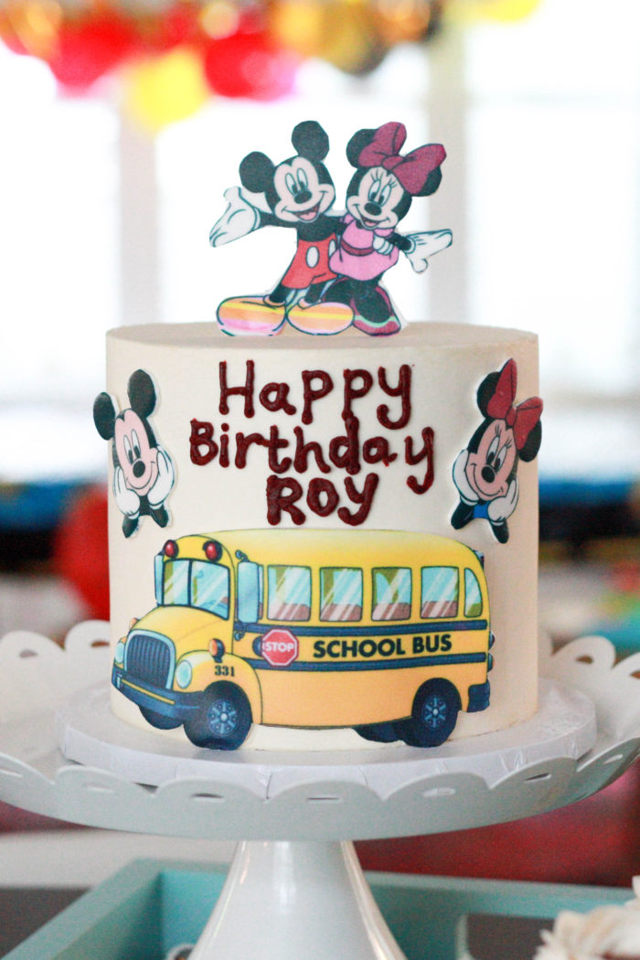 Roy's Mickey Mouse Birthday Party Theme