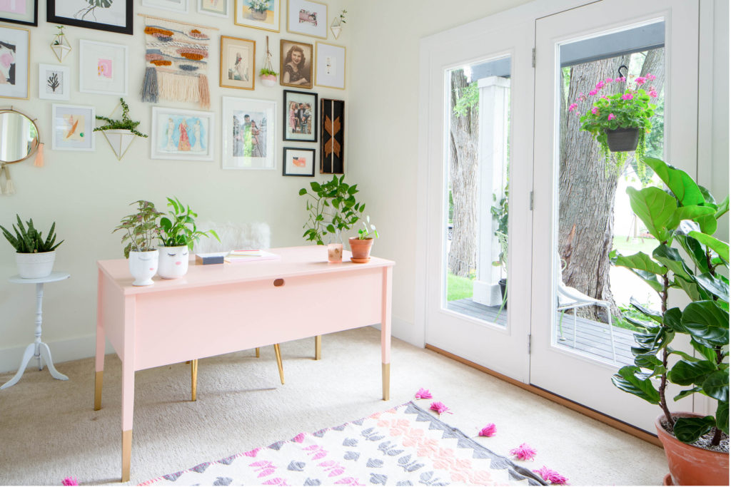 girly home office office