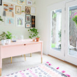 Feminine Home Office Reveal