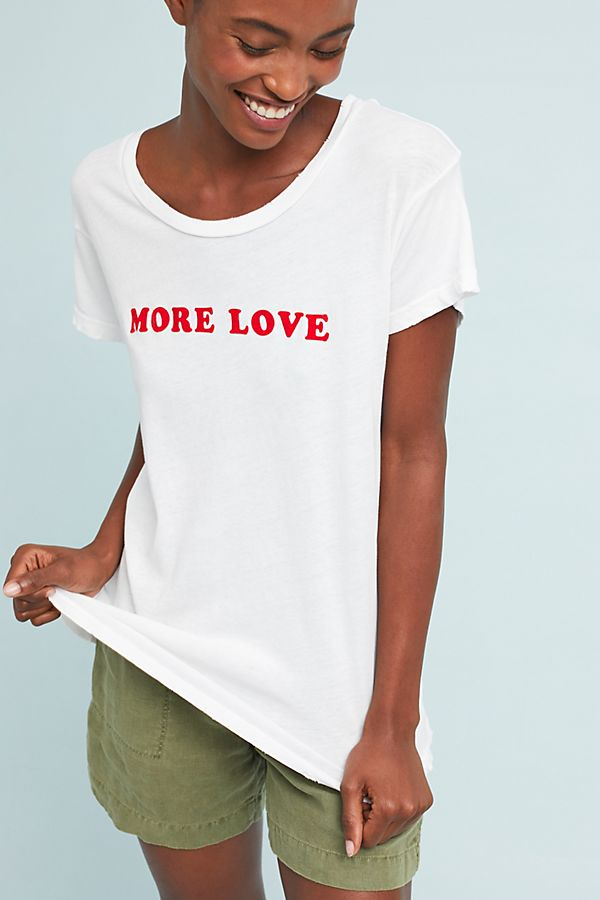 more love tee anthropologie