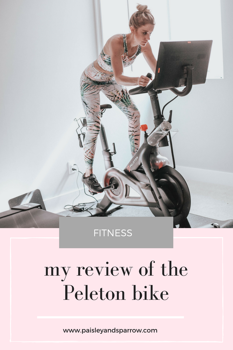 Is the Pelton worth it? My full peloton bike review and all the pros and cons! #peloton #pelotonbike