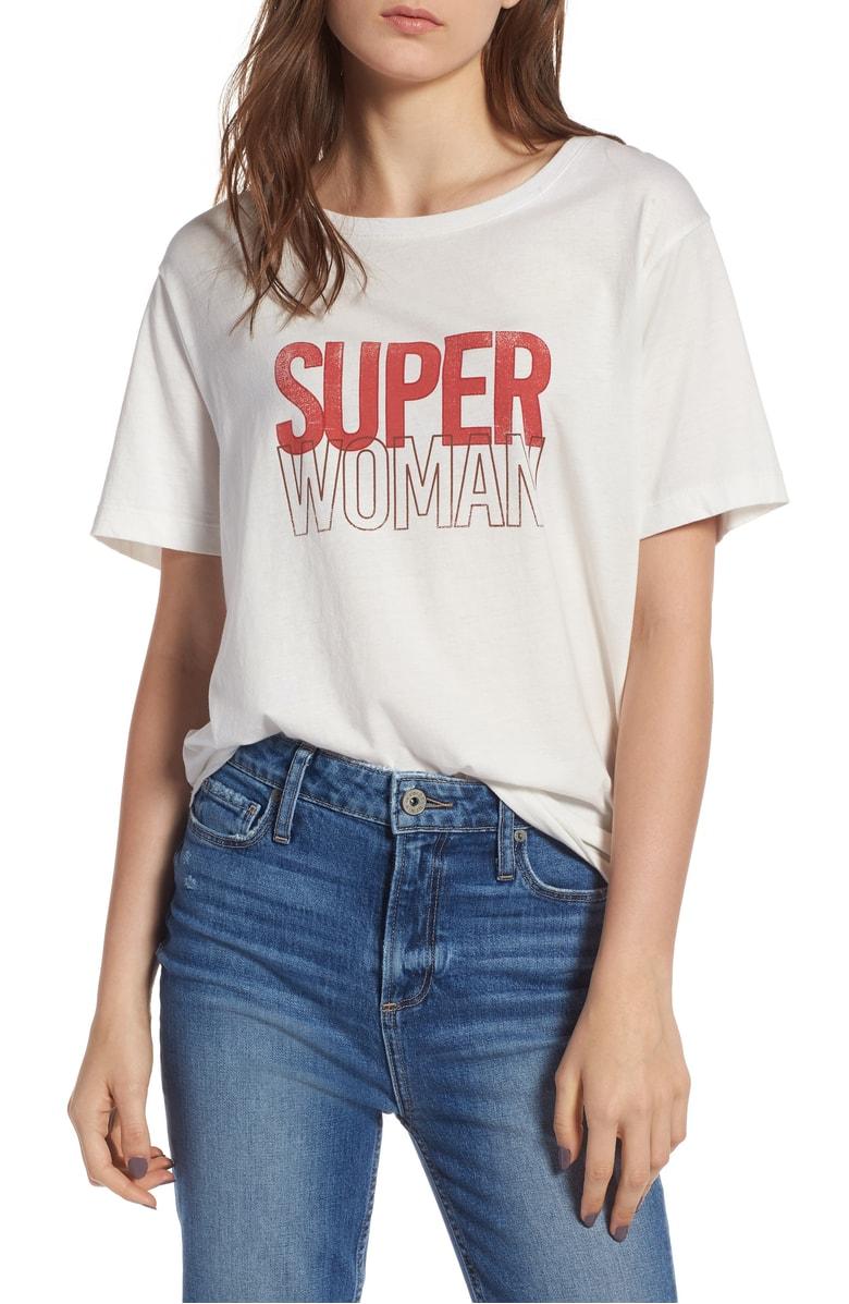 super woman tee