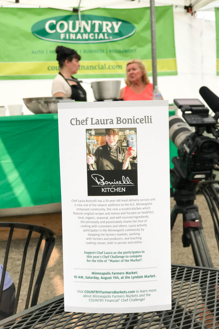 2018 Minneapolis Farmers Market Chef Challenge by COUNTRY Financial