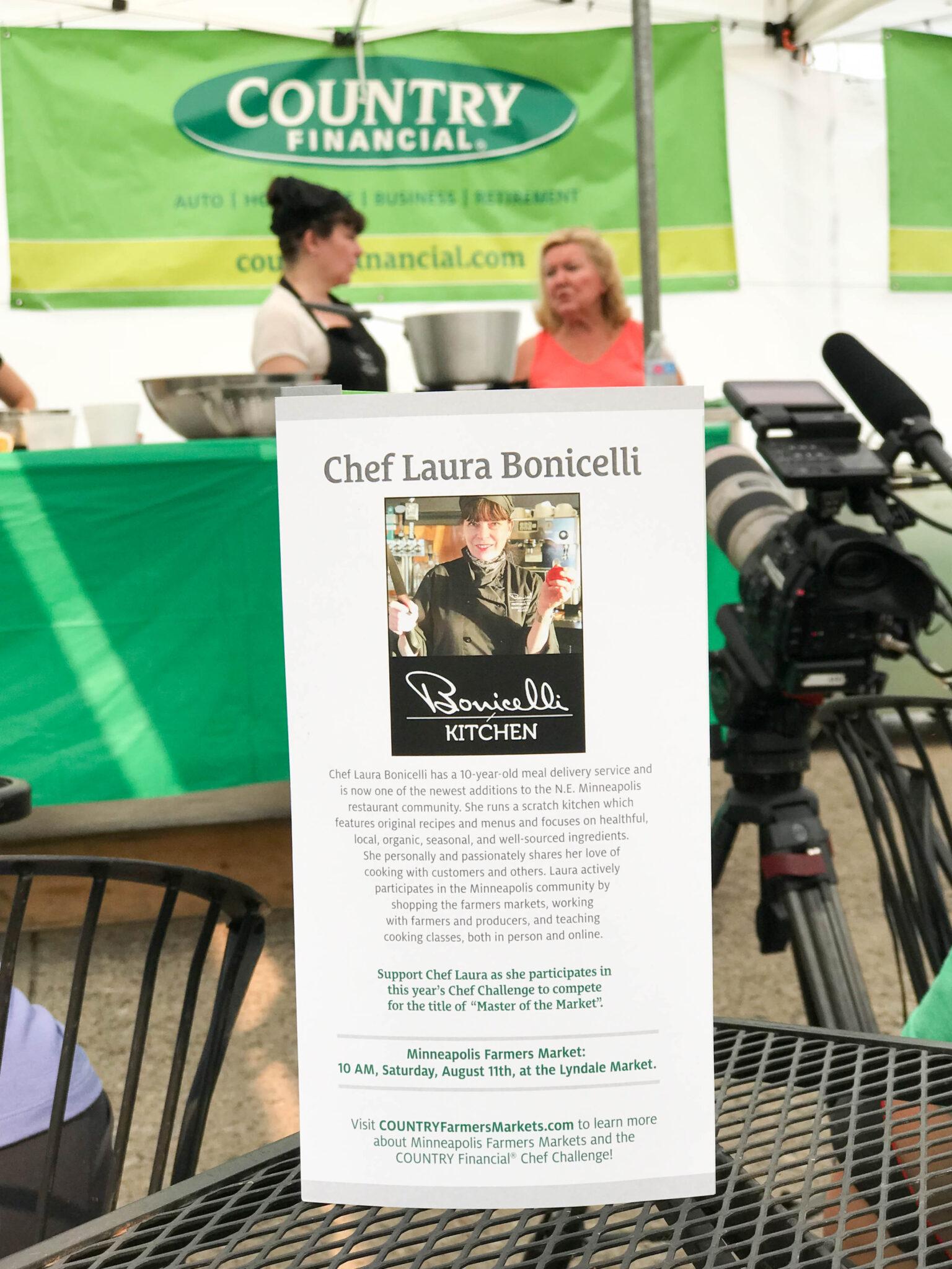 Chef Laura Bonicelli of Bonicelli Kitchen