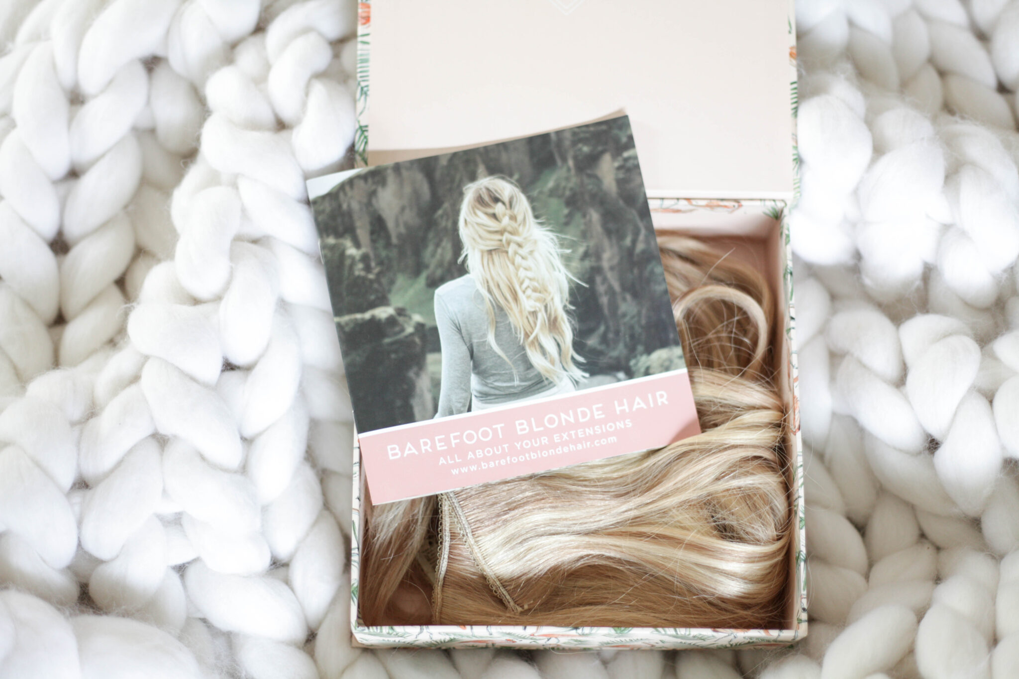 booklet included with barefoot blonde hair by amber fillerup