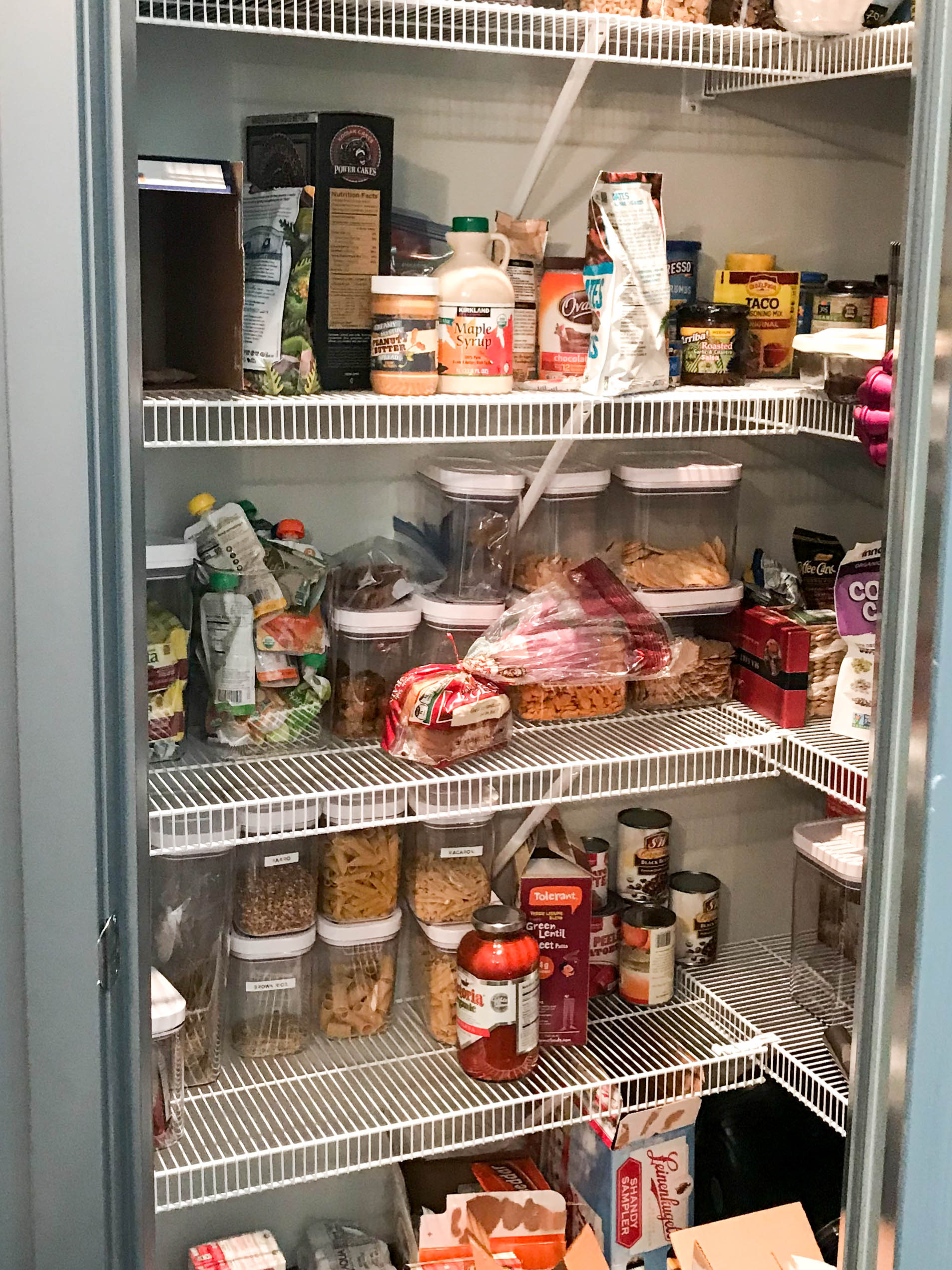 17 DIY Pantry Organization Ideas   The Before! 7 Hacks To Organize Your  Pantry ...