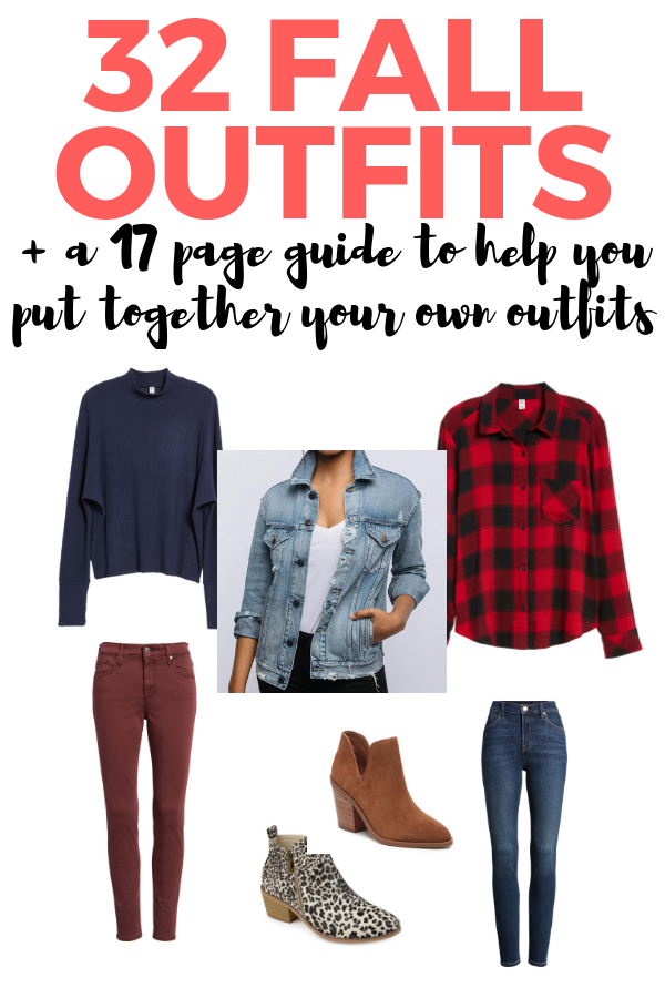 32 fall outfits plus a 17 page guide