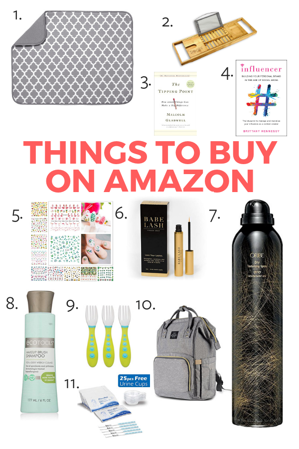 My Favorite Things To Buy on Amazon (That You'll Actually Use!)