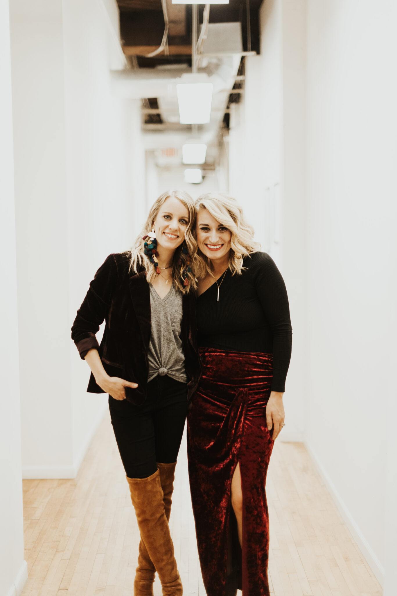 Jen and Meghan