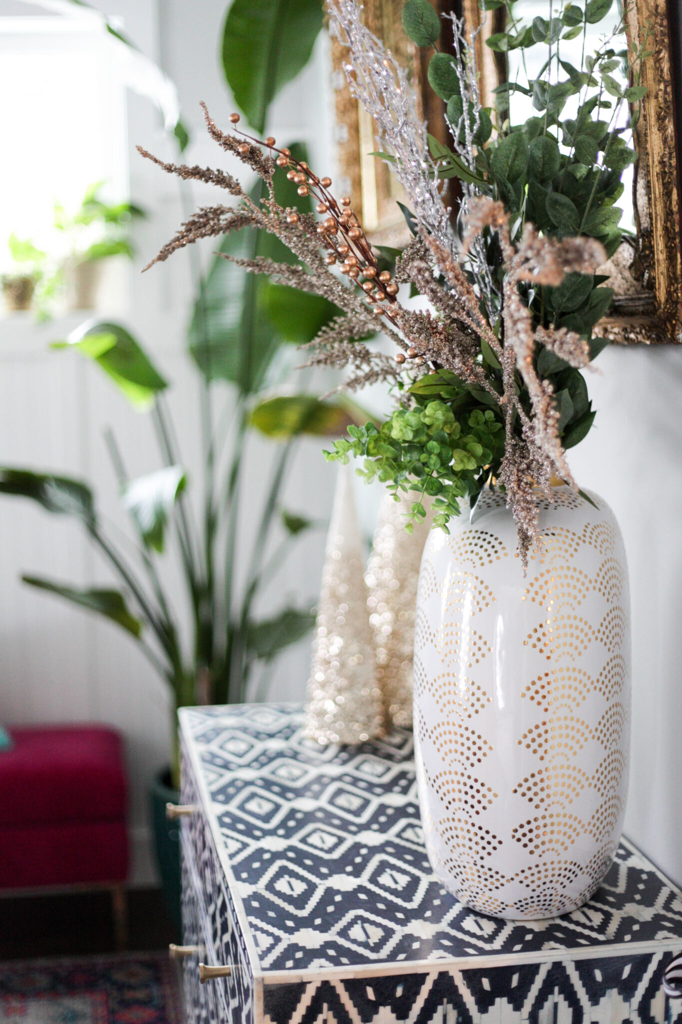 christmas decor 2018 - collection of trees