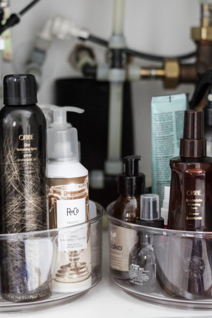 Organizing Your Hair Product {+ My Current Favorites!}