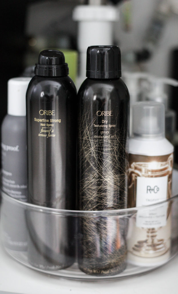 How to organize your hair product simply