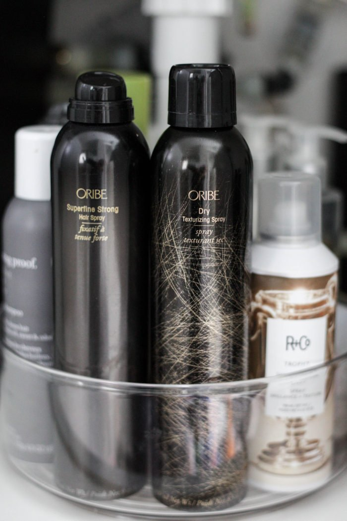 How to Organize Your Hair Product {+ My Current Favorites!}
