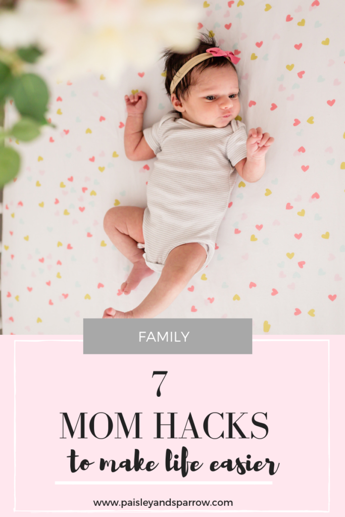 7 mom hacks to make life easier