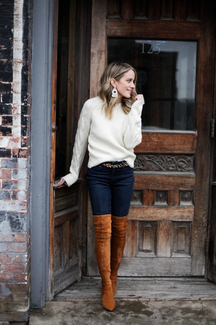 How to Wear Thigh High Boots (without looking trashy)