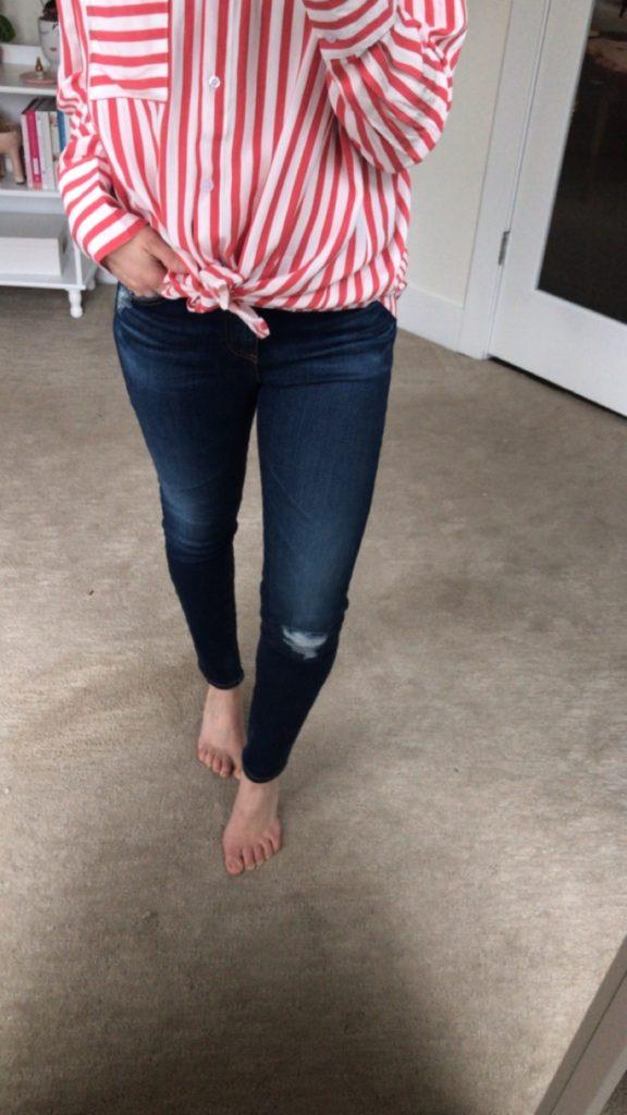 AG farrah ankle skinny jeans - trendsend review