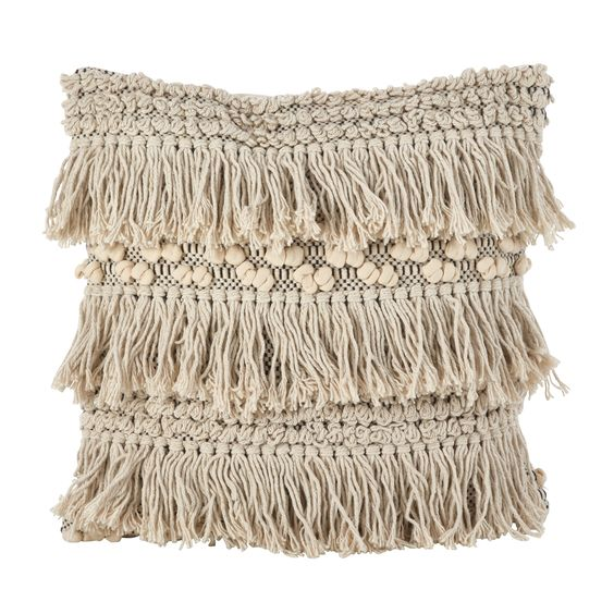 Boho Home Decor - tassel pillow #boho