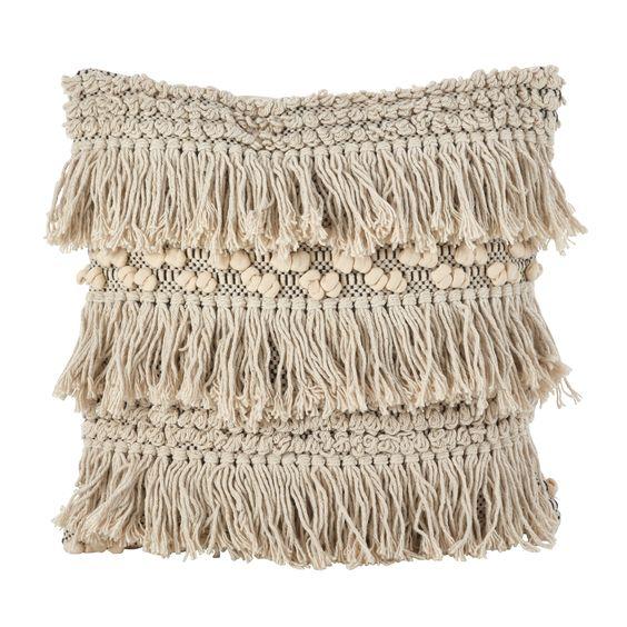 Boho Home Decor - tassel pillow #boho