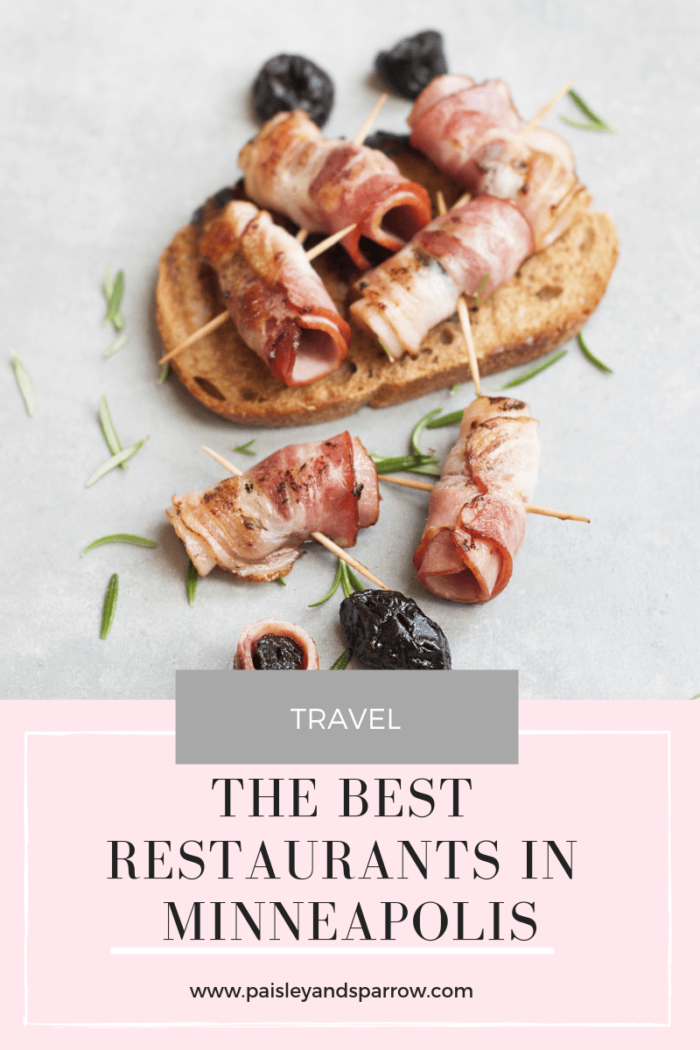 9 Best Restaurants in Minneapolis