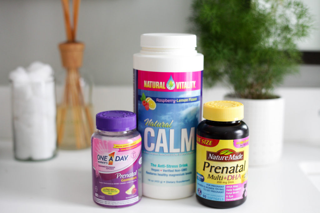 vitamins and supplements to take during the first trimester of pregnancy