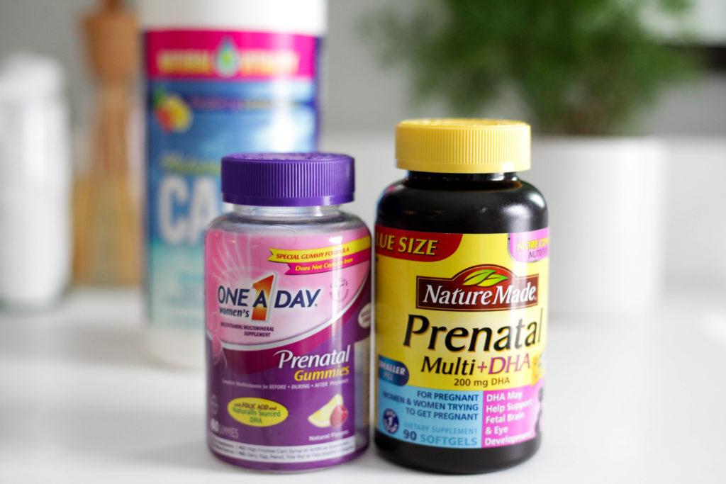 gummy and pill prenatal vitamins
